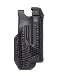 Blackhawk Epoch Level 3 Light Bearing Duty Holster, Fits Glock 17/22/31 with Tac-Light, Right Hand, Black Matte Finish
