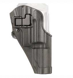 Blackhawk CQC SERPA Holster With Belt and Paddle Attachment, Right Hand, Black