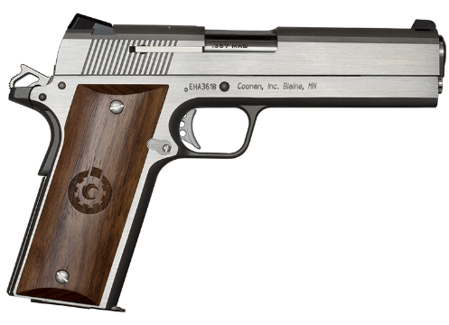 Coonan .357 Mag. Classic Stainless Pistol Stock # Temporarily Unavailable