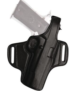 Tagua Gunleather Four in One Holster, Inside the Waist, Black, Right Hand