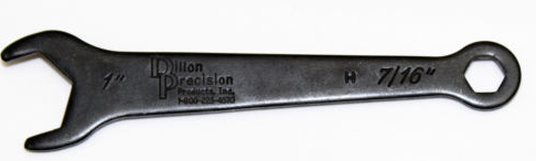 Dillon Precision 10842 New Style 1″ Bench Wrench Dillon Dies One Inch 7/16″ End