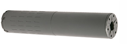 SilencerCo, Hybrid 46, Rifle Suppressor, 7.8″, .45-70 and .458 SOCOM rated, Black Finish, 12.2oz