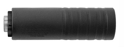 SilencerCo Omega 9K Silencer 4.7 Inches 8.8 Ounces Direct Thread Mount Black Oxide Finish – All NFA Rules Apply