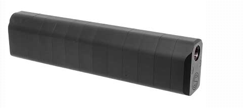 SilencerCo Salvo 12 Shotgun Silencer 12 Gauge Without Mount Hard Coat Anodized Black – All NFA Rules Apply