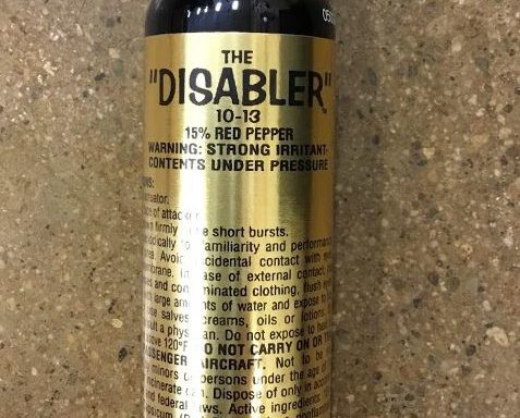 Pepper Spray 4oz Flip Top 15% Red Pepper