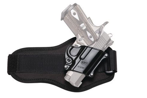 Fobus Ankle Holster For Walther PPS/CZ97B/Taurus 709 Slim Black Right Hand