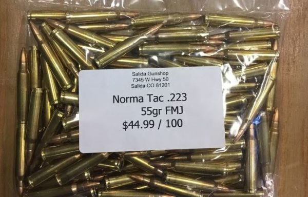 Norma Tac .223 55 Grain FMJ 100 Rounds