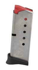 Smith & Wesson, Magazine, 380ACP, 6Rd, Fits Bodyguard, Stainless