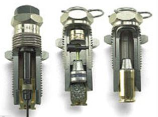 DILLON CARBIDE PISTOL DIES (THREE-DIE SETS)