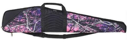 Bulldog Cases & Vaults Single Rifle Soft Case 48″ Nylon/Leather Muddy Girl Camo