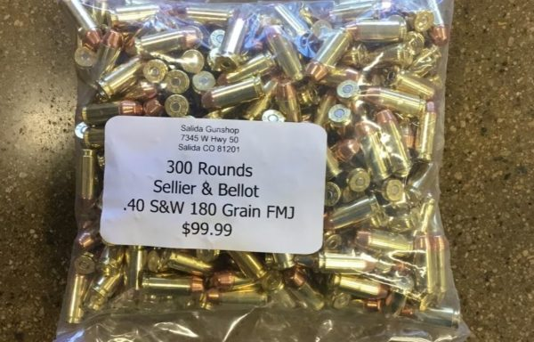 .40 S&W 180 gr FMJ 300 rds
