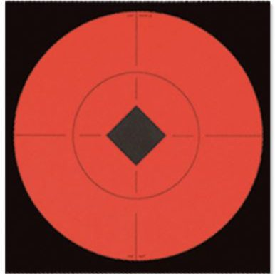 Birchwood Casey Target Spots 6″ Fluorescent Red Package of 10
