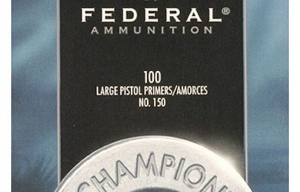 Federal Large Pistol Primer NO. 150
