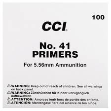 CCI NO. 41 Primers