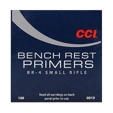 CCI Bench Rest Small Rifle Primer BR-4