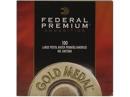 Federal Gold Medal Match Large Pistol Primer 150M