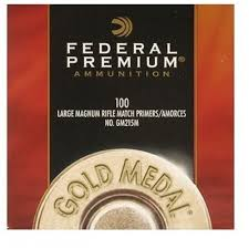 Federal Gold Medal Match Magnum Large Rifle Primers 215M