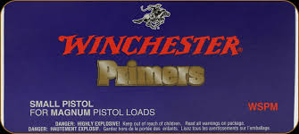 Winchester Small Pistol Magnum Primer (out of stock, no backorder)