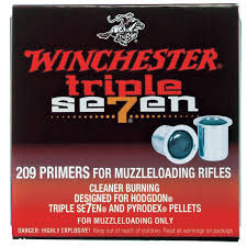 Winchester 209 Triple 7 Primers  (out of stock, no backorder)
